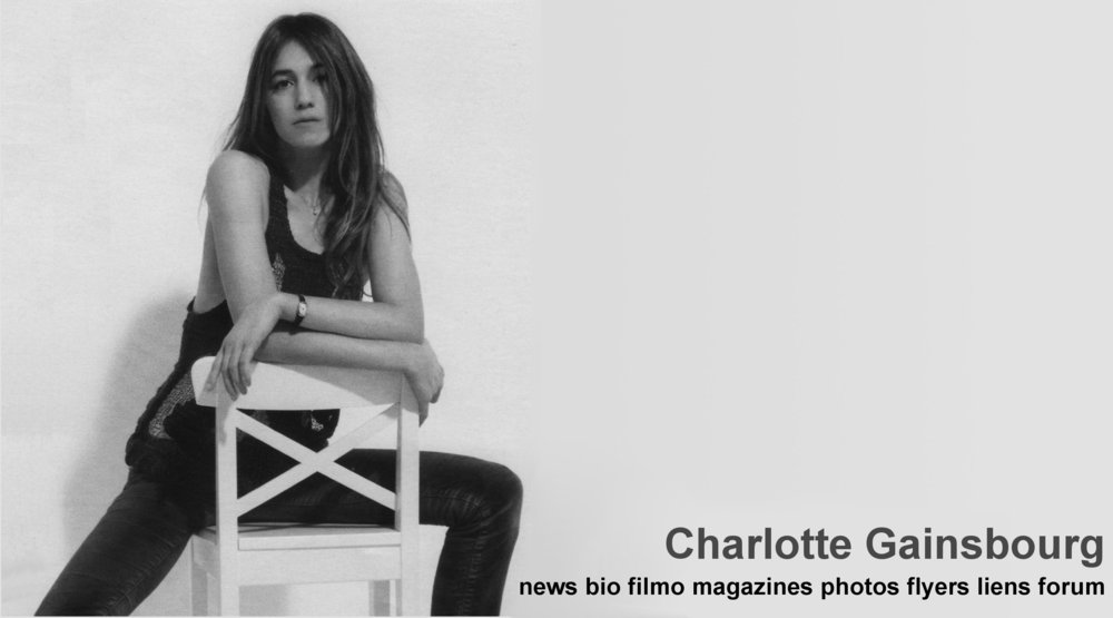 charlotte gainsbourg fan site